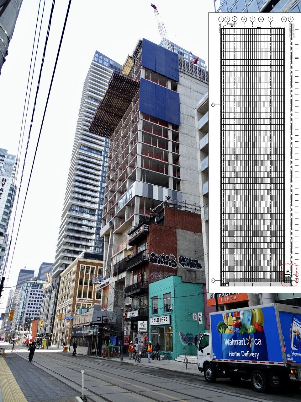 357 King West, Toronto, designed by BDP Quadrangle for Great Gulf